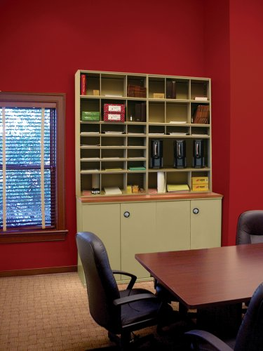 Book or File Shelving/4 post shelving with bins and doors