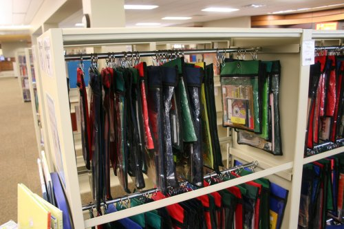 Book or File Shelving/Library shelving with hanging rods