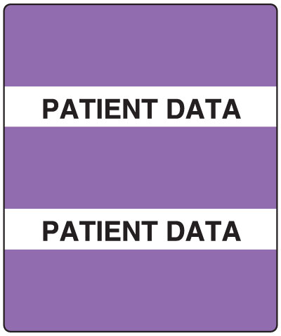 300 Series Create Your Own Patient Chart Divider Tab Miscellaneous  1-1/2