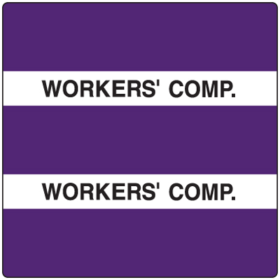 300 Series Create Your Own Patient Chart Divider Tab Purple Worker