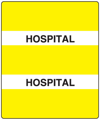 300 Series Create Your Own Patient Chart Divider Tab Hospital  1-1/2