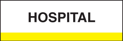 400 Series Create Your Own Patient Chart Divider Tab Hospital  Yellow 1-1/4