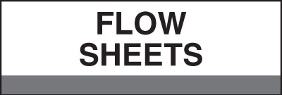 400 Series Create Your Own Patient Chart Divider Tab Flow Sheets  Gray 1-1/4