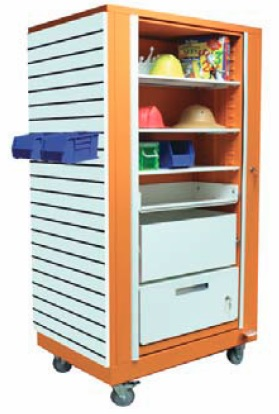 Rotating Shelving - Quik Lock Accessories