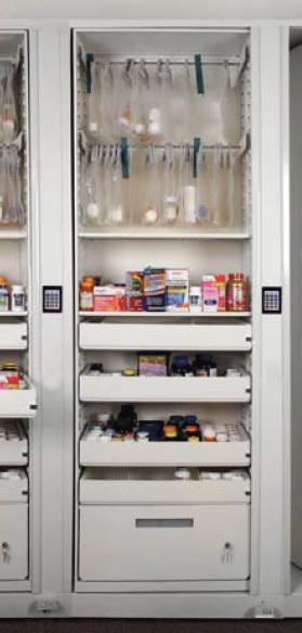 Times-2 Pharmacy Storage Cabinet
