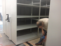 High Density Mobile Shelving installation, moving and Repair