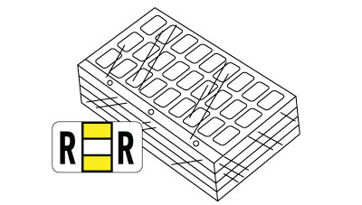 Refill Kit Ringbooks (3,120 assorted labels) Includes A through Z plus MC POS System 2000 Series Match Polylaminated